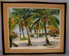 Lot 103A Manley Butler oil painting