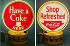 Revolving Coca Cola Halo Light