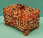Vintage Casino dice trinket box