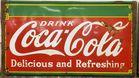 Coca Cola 1934 porcelain sign