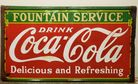 Coca Cola 1933 porcelain sign