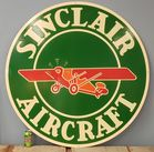 Large Painted Reproduction Sinclair sign