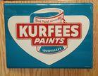 Large NOS Kurfees Paint Sign