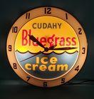 RARE Cudahy Bluegrass Ice Cream Clock