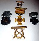 183.  Marksmen Medals C.a 1900