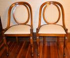 364. Pr Beidermeier style chairs