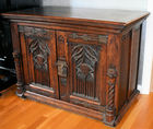 324. Antique Continental cabinet