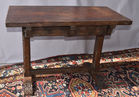 122. Italian antq trestle table