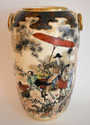 "389. 15"" Hunter Satsuma Vase"