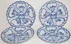 391. 12 Bavarian oyster plates