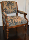 375. French Antique Walnut chair
