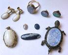 77. Australian opal lot
