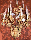 """436. Wall sconce 33"""" H"""