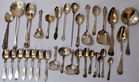 432. 33 pc lot spoons
