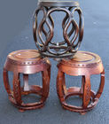 465. 3 Chinese hardwood stools