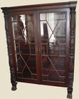 380. Acanthus carved cabinet