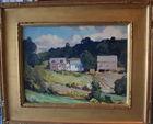 438. Charles Curtis Allen oil landscape