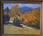 439. John Terelak oil painting landscape