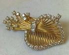 233. Cartier 18k and diamond brooch