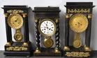 3 Portico clocks