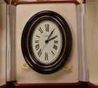 464. Cartier clock in case