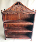 104. Carved Asian bookcase