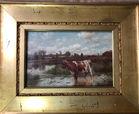 142. 2 sm o/c paintings