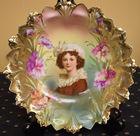 318. Portrait bowl