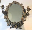 77. Brass mirror