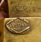 346. Detail foundry mark