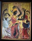 279. 2 African Amer paintings