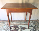 134. 18thC New Engl tiger maple table