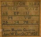 452.Sampler Louisa Carretson