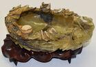 229. Carved hardstone bowl