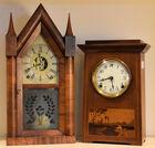 121. 2 Shelf clocks