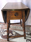 133. Antique Butterfly table