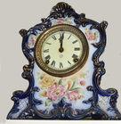 30. Ansonia porcelain clock