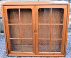 182. MCM teak hanging cabinet