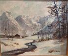 162. Winter mountain landscape