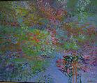 319. Infinite Light oil on canvas