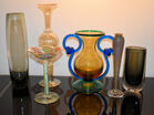 355. Art glass lot