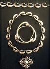 467. G. Jensen Jewelry lot