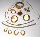 Lot 41A Assembled gold and gold plate