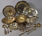Lot 45 Assembled sterling silver