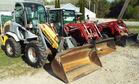 Mustang Loader & 2 MF Tractors