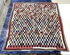 Lot# 72 - Hand Made Quilt Checkerboard