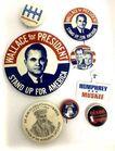 Lot# 102 - Lot of 8 Pinbacks Political /