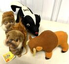 Lot# 128a - Lot of 4  Animals Plush and