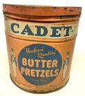 Lot# 131 - Cadet Butter Pretzels Can