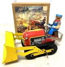Lot# 159 - Tin Wind Up Bulldozer with Or